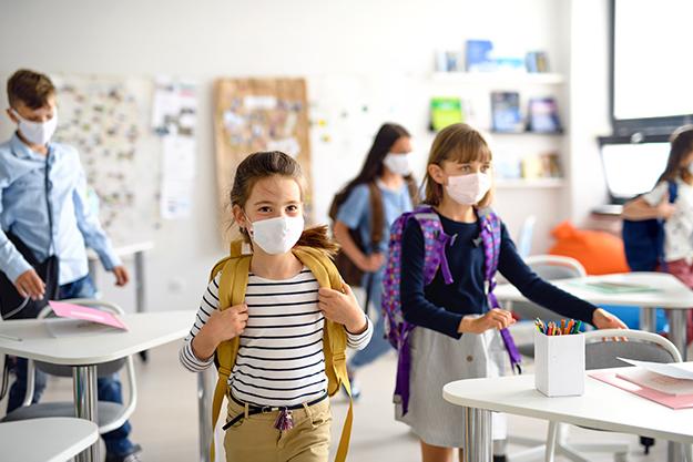 Schule Eigeltingen - Maskenpflicht